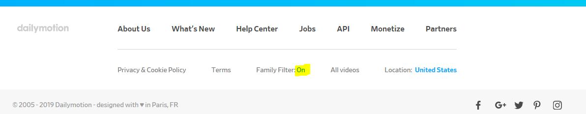 DM Family Filter